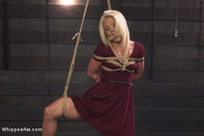 Photo number 3 from Hot Slutty Blond dominated in Bella Rossi's Kinky Lesbian Fantasy shot for Whipped Ass on Kink.com. Featuring Bella Rossi and Holly Hanna in hardcore BDSM & Fetish porn.