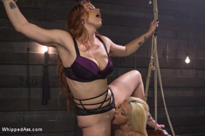 Photo number 6 from Hot Slutty Blond dominated in Bella Rossi's Kinky Lesbian Fantasy shot for Whipped Ass on Kink.com. Featuring Bella Rossi and Holly Hanna in hardcore BDSM & Fetish porn.