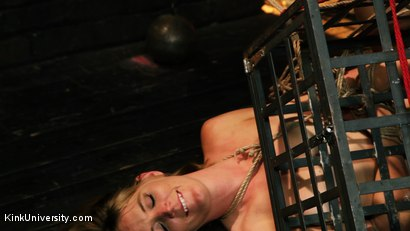 Photo number 30 from Asymmetric Bondage with Boss Bondage shot for Kink University on Kink.com. Featuring Mona Wales and Boss Bondage in hardcore BDSM & Fetish porn.