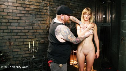 Photo number 5 from Asymmetric Bondage with Boss Bondage shot for Kink University on Kink.com. Featuring Mona Wales and Boss Bondage in hardcore BDSM & Fetish porn.
