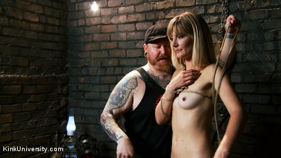 Photo number 6 from Asymmetric Bondage with Boss Bondage shot for Kink University on Kink.com. Featuring Mona Wales and Boss Bondage in hardcore BDSM & Fetish porn.