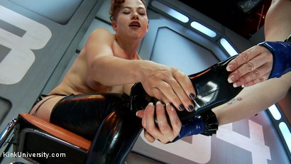 Photo number 1 from Latex Fetish: Wearing, Care and Feeding shot for Kink University on Kink.com. Featuring Snow Mercy and Ingrid Mouth in hardcore BDSM & Fetish porn.