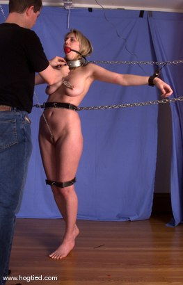 Photo number 10 from Leila shot for Hogtied on Kink.com. Featuring Leila in hardcore BDSM & Fetish porn.