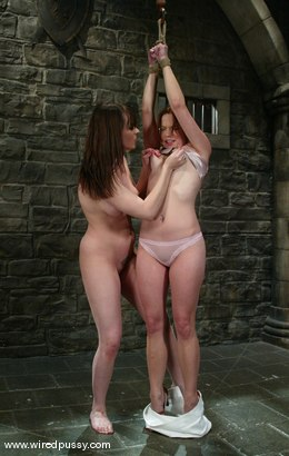 Photo number 4 from Dana DeArmond and Phoebe shot for Wired Pussy on Kink.com. Featuring Dana DeArmond and Phoebe in hardcore BDSM & Fetish porn.