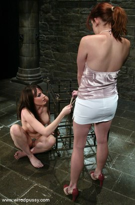 Photo number 3 from Dana DeArmond and Phoebe shot for Wired Pussy on Kink.com. Featuring Dana DeArmond and Phoebe in hardcore BDSM & Fetish porn.