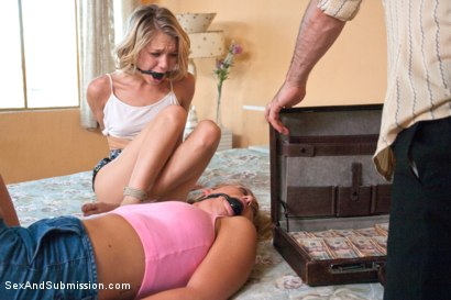 Photo number 3 from No Cuntry for Dirty Sluts shot for Sex And Submission on Kink.com. Featuring Carter Cruise, Dakota Skye and James Deen in hardcore BDSM & Fetish porn.
