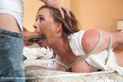 Photo number 5 from True Slut Detective   shot for Sex And Submission on Kink.com. Featuring James Deen and Krissy Lynn in hardcore BDSM & Fetish porn.