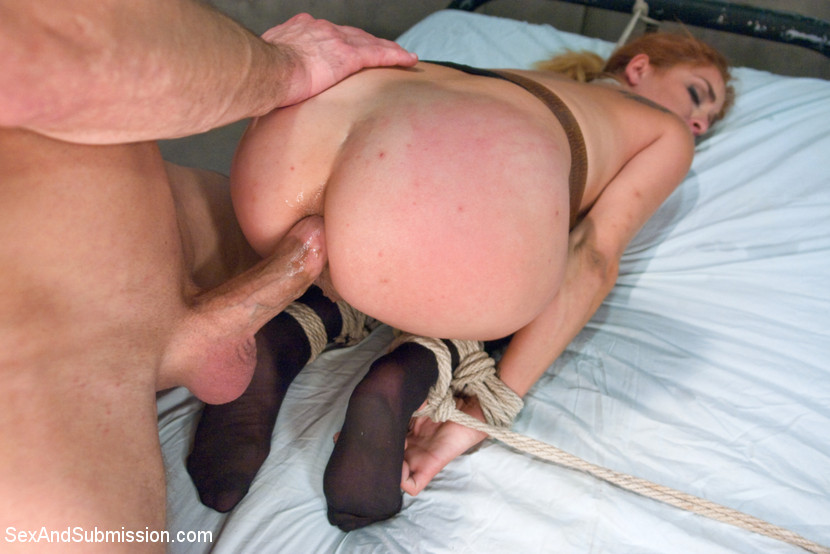Ass bondage naked