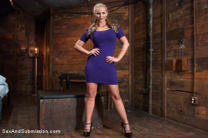 Photo number 1 from The Claiming of Phoenix Marie shot for Sex And Submission on Kink.com. Featuring Phoenix Marie and Ramon Nomar in hardcore BDSM & Fetish porn.