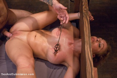 Photo number 12 from Fear Play: Cherie Deville's Role-Play Fantasy shot for Sex And Submission on Kink.com. Featuring Tommy Pistol and Cherie DeVille in hardcore BDSM & Fetish porn.