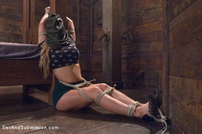 Photo number 2 from Fear Play: Cherie Deville's Role-Play Fantasy shot for Sex And Submission on Kink.com. Featuring Tommy Pistol and Cherie DeVille in hardcore BDSM & Fetish porn.