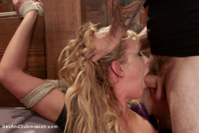 Photo number 4 from Fear Play: Cherie Deville's Role-Play Fantasy shot for Sex And Submission on Kink.com. Featuring Tommy Pistol and Cherie DeVille in hardcore BDSM & Fetish porn.