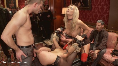 Photo number 8 from The Petition of Anal Slut Roxanne Rae with House Slave Amanda Tate shot for The Upper Floor on Kink.com. Featuring Roxanne Rae, Bill Bailey and Amanda Tate in hardcore BDSM & Fetish porn.