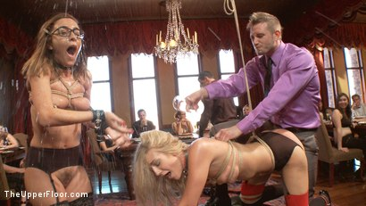 Photo number 5 from The Petition of Anal Slut Roxanne Rae with House Slave Amanda Tate shot for The Upper Floor on Kink.com. Featuring Roxanne Rae, Bill Bailey and Amanda Tate in hardcore BDSM & Fetish porn.