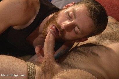 Photo number 2 from First Ever Men on Edge LIVE! - Slumber Party shot for Men On Edge on Kink.com. Featuring Christian Wilde and Dylan Knight in hardcore BDSM & Fetish porn.