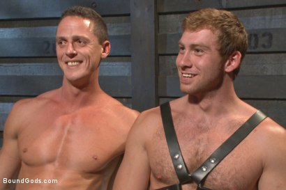 Photo number 15 from House Dom Connor Maguire breaks in a new boy shot for Bound Gods on Kink.com. Featuring Connor Maguire and Ivan Gregory in hardcore BDSM & Fetish porn.