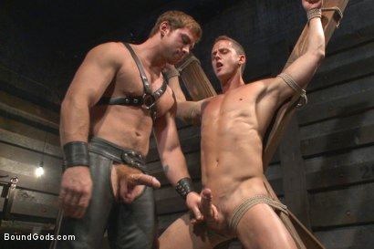 Photo number 6 from House Dom Connor Maguire breaks in a new boy shot for Bound Gods on Kink.com. Featuring Connor Maguire and Ivan Gregory in hardcore BDSM & Fetish porn.