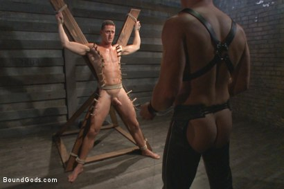 Photo number 8 from House Dom Connor Maguire breaks in a new boy shot for Bound Gods on Kink.com. Featuring Connor Maguire and Ivan Gregory in hardcore BDSM & Fetish porn.