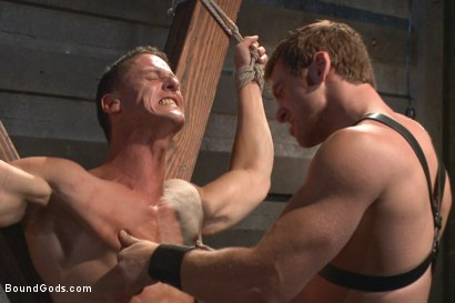 Photo number 9 from House Dom Connor Maguire breaks in a new boy shot for Bound Gods on Kink.com. Featuring Connor Maguire and Ivan Gregory in hardcore BDSM & Fetish porn.