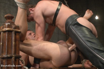 Photo number 10 from House Dom Connor Maguire breaks in a new boy shot for Bound Gods on Kink.com. Featuring Connor Maguire and Ivan Gregory in hardcore BDSM & Fetish porn.