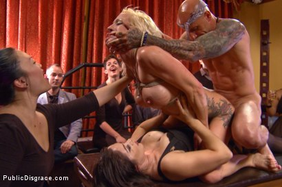 Photo number 5 from Lea Lexis takes control of the hole! Filthy spectacle of disgrace! shot for Public Disgrace on Kink.com. Featuring Zoey Portland, Astral Dust and Lea Lexis in hardcore BDSM & Fetish porn.