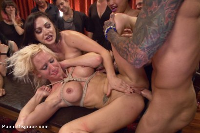 Photo number 13 from Lea Lexis takes control of the hole! Filthy spectacle of disgrace! shot for Public Disgrace on Kink.com. Featuring Zoey Portland, Astral Dust and Lea Lexis in hardcore BDSM & Fetish porn.