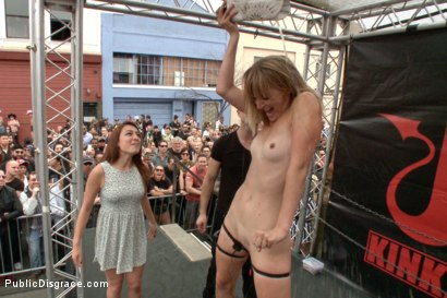 Photo number 10 from Folsom Street Spectacle! The ultimate humiliation of Mona Wales shot for Public Disgrace on Kink.com. Featuring Ariel X, Bill Bailey and Mona Wales in hardcore BDSM & Fetish porn.