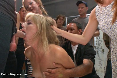 Photo number 1 from Folsom Street Spectacle! The ultimate humiliation of Mona Wales shot for Public Disgrace on Kink.com. Featuring Ariel X, Bill Bailey and Mona Wales in hardcore BDSM & Fetish porn.