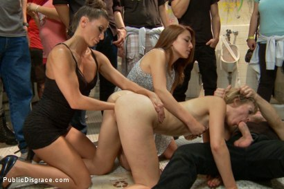 Photo number 8 from Folsom Street Spectacle! The ultimate humiliation of Mona Wales shot for Public Disgrace on Kink.com. Featuring Ariel X, Bill Bailey and Mona Wales in hardcore BDSM & Fetish porn.
