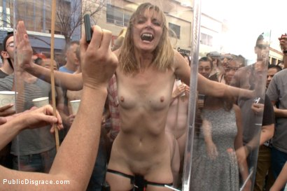 Photo number 15 from Folsom Street Spectacle! The ultimate humiliation of Mona Wales shot for Public Disgrace on Kink.com. Featuring Ariel X, Bill Bailey and Mona Wales in hardcore BDSM & Fetish porn.