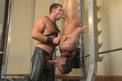 Photo number 11 from Derek Pain endures the Torturous BDSM Workout shot for Bound Gods on Kink.com. Featuring Connor Maguire and Derek Pain in hardcore BDSM & Fetish porn.