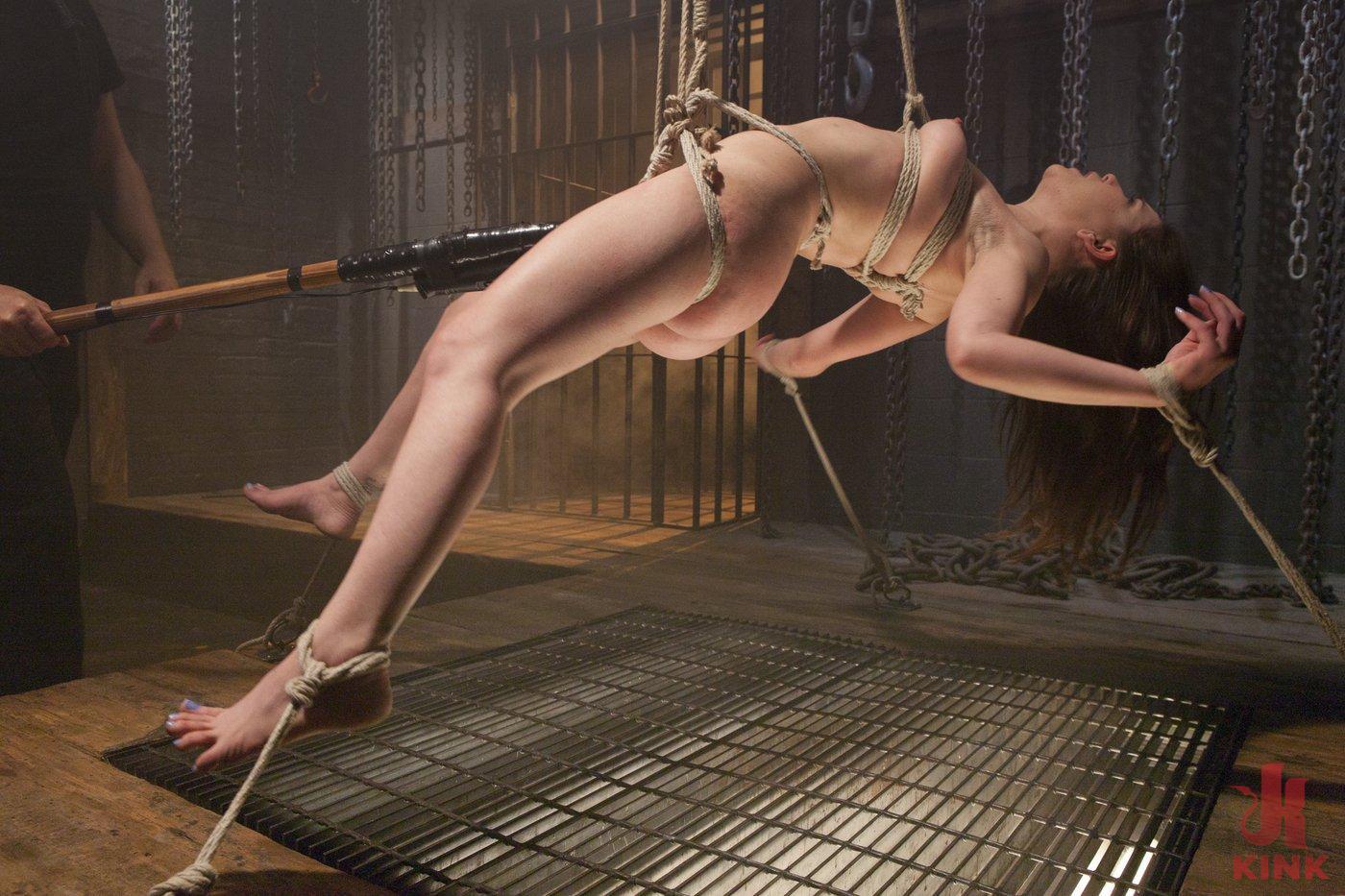 Photo number 17 from Pretty Little Rope Slut Gets Destroyed shot for Hogtied on Kink.com. Featuring Juliette March in hardcore BDSM & Fetish porn.