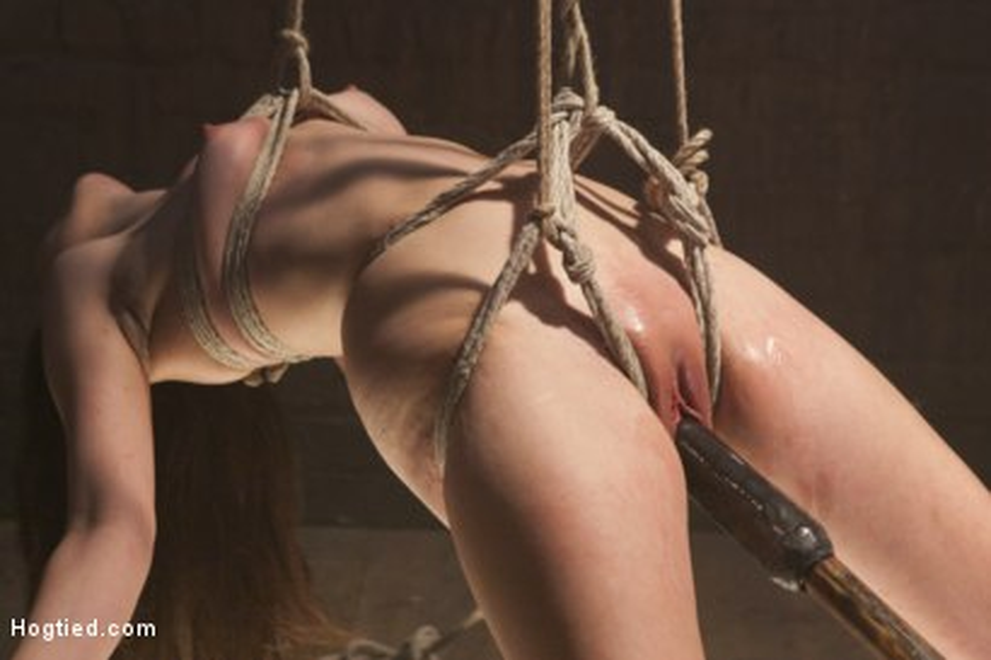 Photo number 7 from Pretty Little Rope Slut Gets Destroyed shot for Hogtied on Kink.com. Featuring Juliette March in hardcore BDSM & Fetish porn.