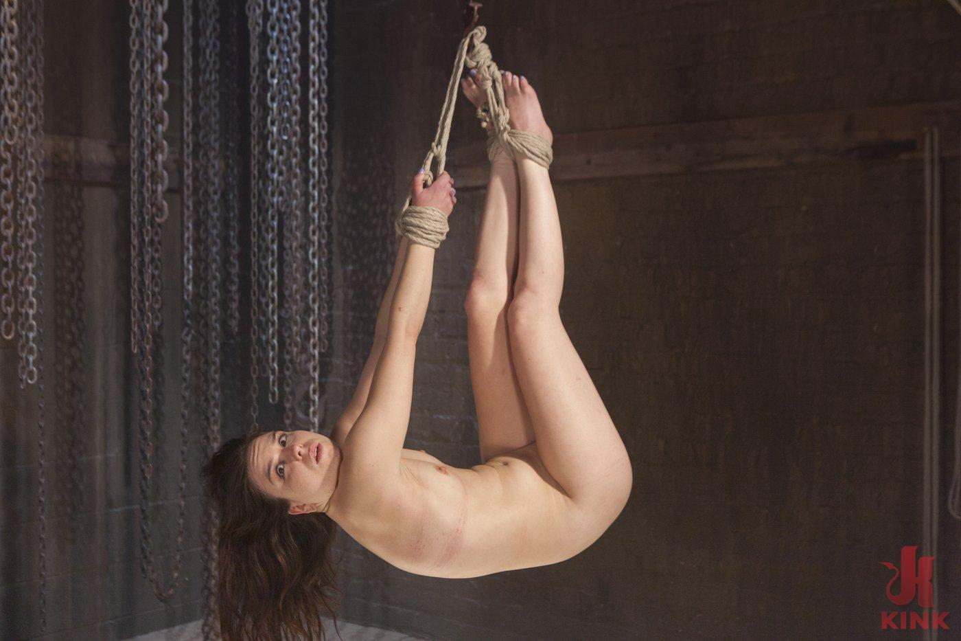 Photo number 10 from Pretty Little Rope Slut Gets Destroyed shot for Hogtied on Kink.com. Featuring Juliette March in hardcore BDSM & Fetish porn.
