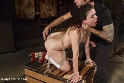 Photo number 12 from Juliette Loves the Cock shot for Brutal Sessions on Kink.com. Featuring Tommy Pistol and Juliette March in hardcore BDSM & Fetish porn.