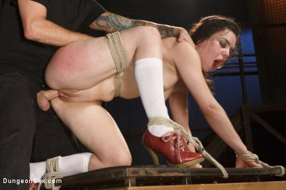 Photo number 7 from Juliette Loves the Cock shot for Brutal Sessions on Kink.com. Featuring Tommy Pistol and Juliette March in hardcore BDSM & Fetish porn.
