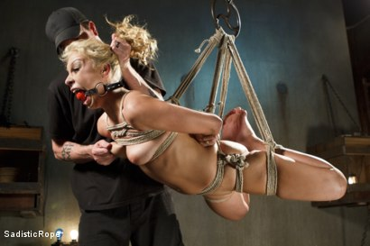 Photo number 2 from What's My Name? shot for Sadistic Rope on Kink.com. Featuring Carmen Caliente in hardcore BDSM & Fetish porn.