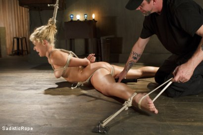 Photo number 7 from What's My Name? shot for Sadistic Rope on Kink.com. Featuring Carmen Caliente in hardcore BDSM & Fetish porn.