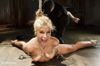 Photo number 6 from What's My Name? shot for Sadistic Rope on Kink.com. Featuring Carmen Caliente in hardcore BDSM & Fetish porn.