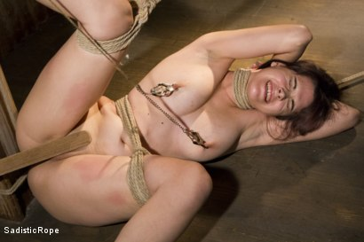 Photo number 10 from Signs of Improvement shot for Sadistic Rope on Kink.com. Featuring Katt Anomia in hardcore BDSM & Fetish porn.