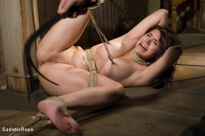 Photo number 14 from Signs of Improvement shot for Sadistic Rope on Kink.com. Featuring Katt Anomia in hardcore BDSM & Fetish porn.