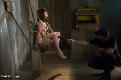 Photo number 7 from Signs of Improvement shot for Sadistic Rope on Kink.com. Featuring Katt Anomia in hardcore BDSM & Fetish porn.