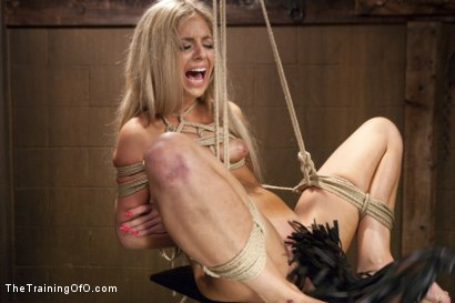 Photo number 19 from Hot Blondes Must Earn Their Orgasms shot for The Training Of O on Kink.com. Featuring Madelyn Monroe and Mickey Mod in hardcore BDSM & Fetish porn.