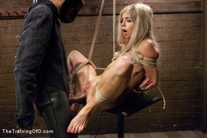 Photo number 23 from Hot Blondes Must Earn Their Orgasms shot for The Training Of O on Kink.com. Featuring Madelyn Monroe and Mickey Mod in hardcore BDSM & Fetish porn.