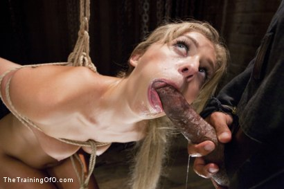 Photo number 12 from Hot Blondes Must Earn Their Orgasms shot for The Training Of O on Kink.com. Featuring Madelyn Monroe and Mickey Mod in hardcore BDSM & Fetish porn.