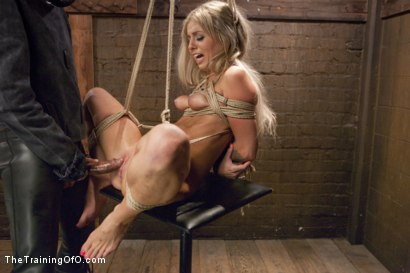 Photo number 14 from Hot Blondes Must Earn Their Orgasms shot for The Training Of O on Kink.com. Featuring Madelyn Monroe and Mickey Mod in hardcore BDSM & Fetish porn.