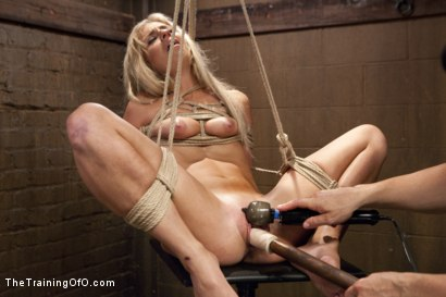 Photo number 16 from Hot Blondes Must Earn Their Orgasms shot for The Training Of O on Kink.com. Featuring Madelyn Monroe and Mickey Mod in hardcore BDSM & Fetish porn.