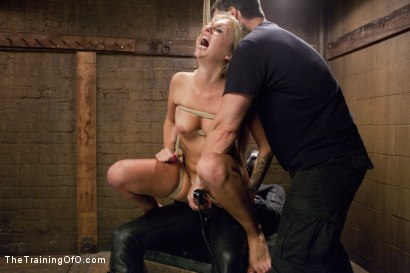 Photo number 6 from Hot Blondes Must Earn Their Orgasms shot for The Training Of O on Kink.com. Featuring Madelyn Monroe and Mickey Mod in hardcore BDSM & Fetish porn.