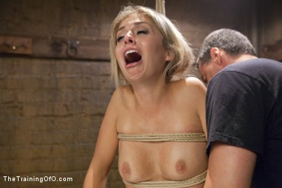 Photo number 8 from Hot Blondes Must Earn Their Orgasms shot for The Training Of O on Kink.com. Featuring Madelyn Monroe and Mickey Mod in hardcore BDSM & Fetish porn.