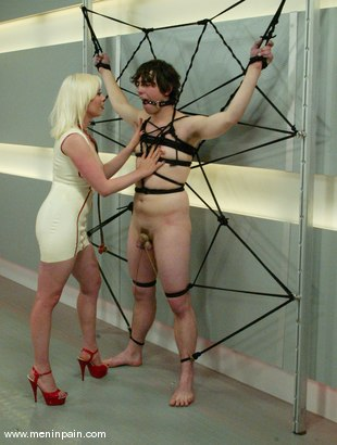 Photo number 6 from Lorelei Lee and Dorian shot for Men In Pain on Kink.com. Featuring Dorian and Lorelei Lee in hardcore BDSM & Fetish porn.